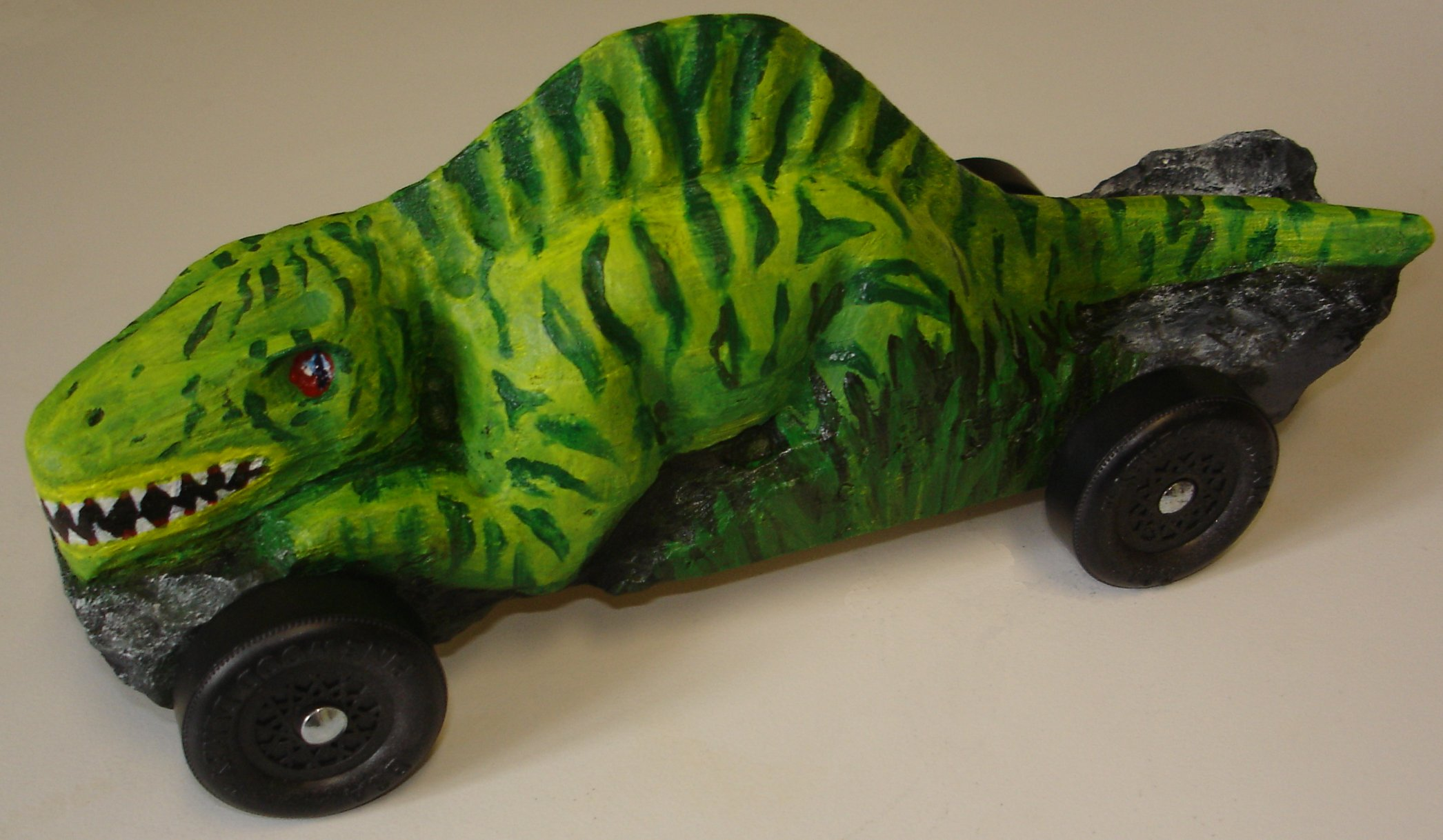 dino - Pinewood Derby Car Design Ideas